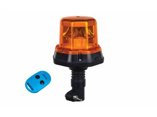 HORLDO2279 GYROPHARE LED 12/24V SUR TIGE AVEC TELECOMMANDE