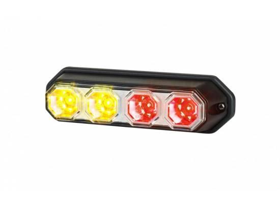 HORLZD2264 FEU  ARRIERE  4 LEDS 12/24V POSITION/STOP/CLIGOTANT IP67